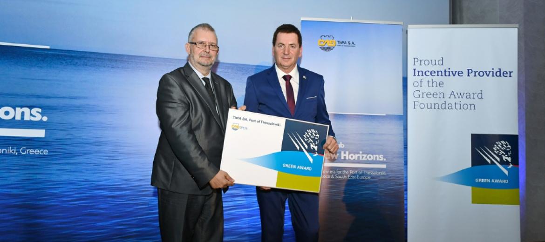 Λιμάνι Θεσσαλονίκης: Το πρώτο λιμάνι στην Ελλάδα που γίνεται μέλος του δικτύου Green Award